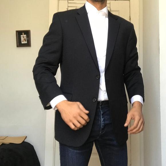 b5543df53 Hugo Boss Suits & Blazers | Pasolini Wool Blazer Jacket Navy Blue ...